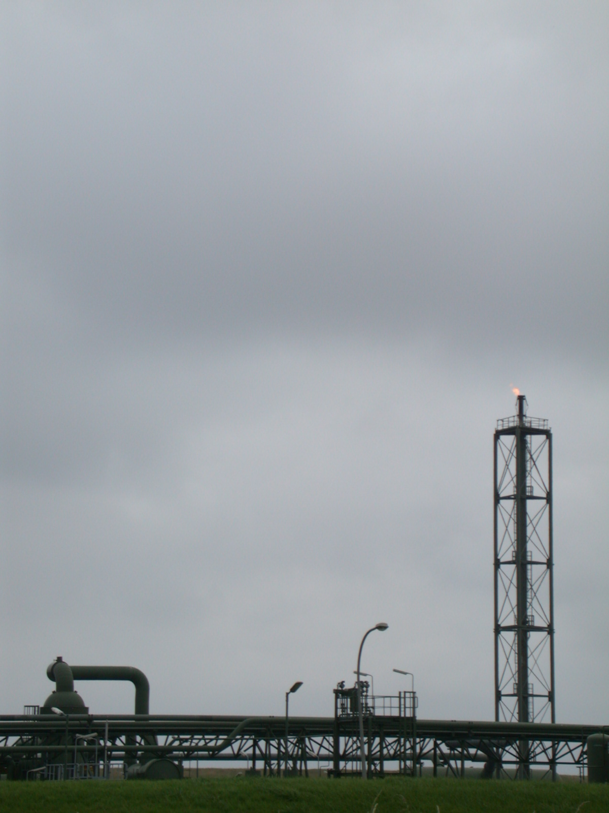 industry denhelder gass pipes flame gas tower silhouette