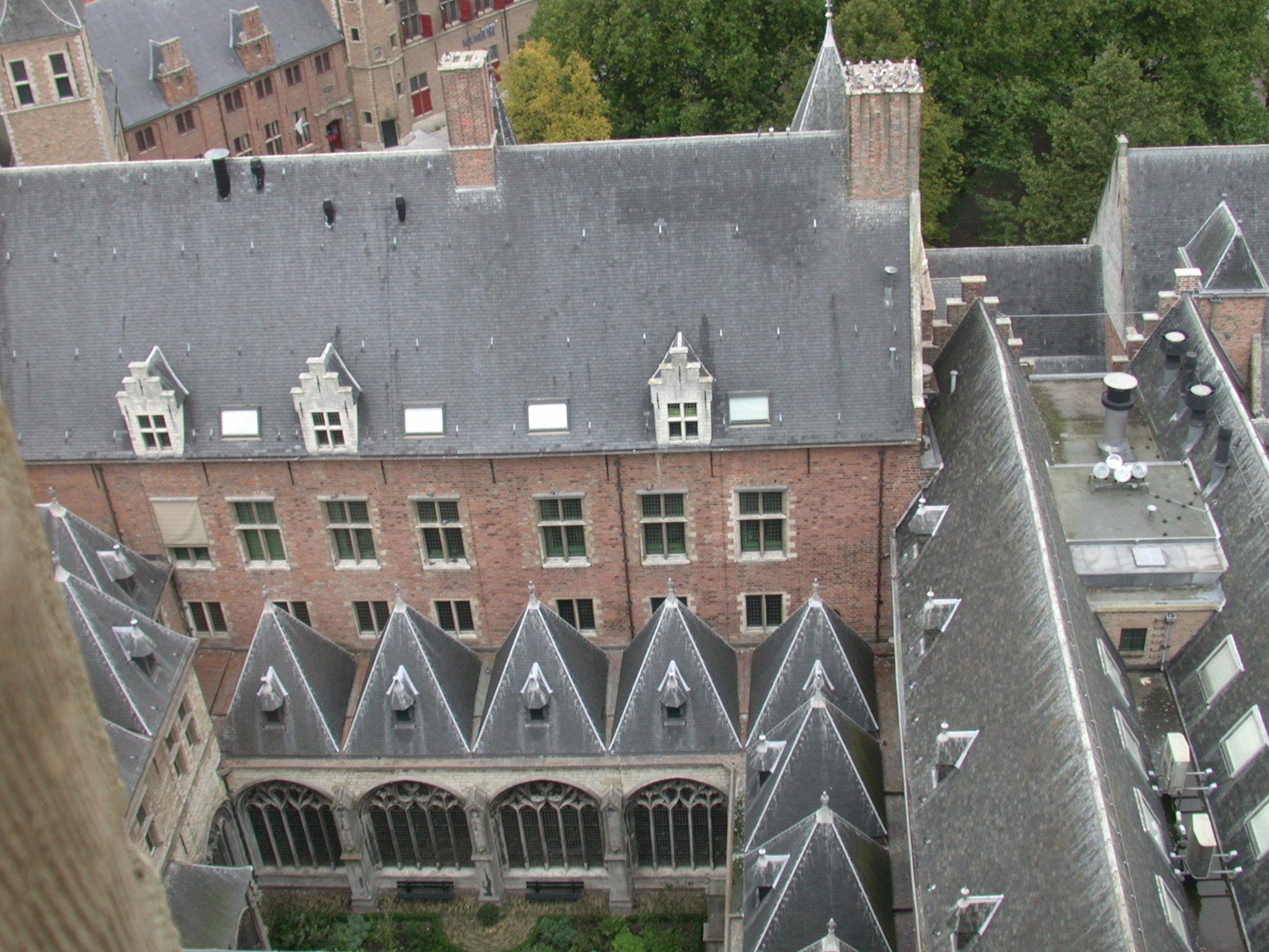 church roof architecture arces dutch city