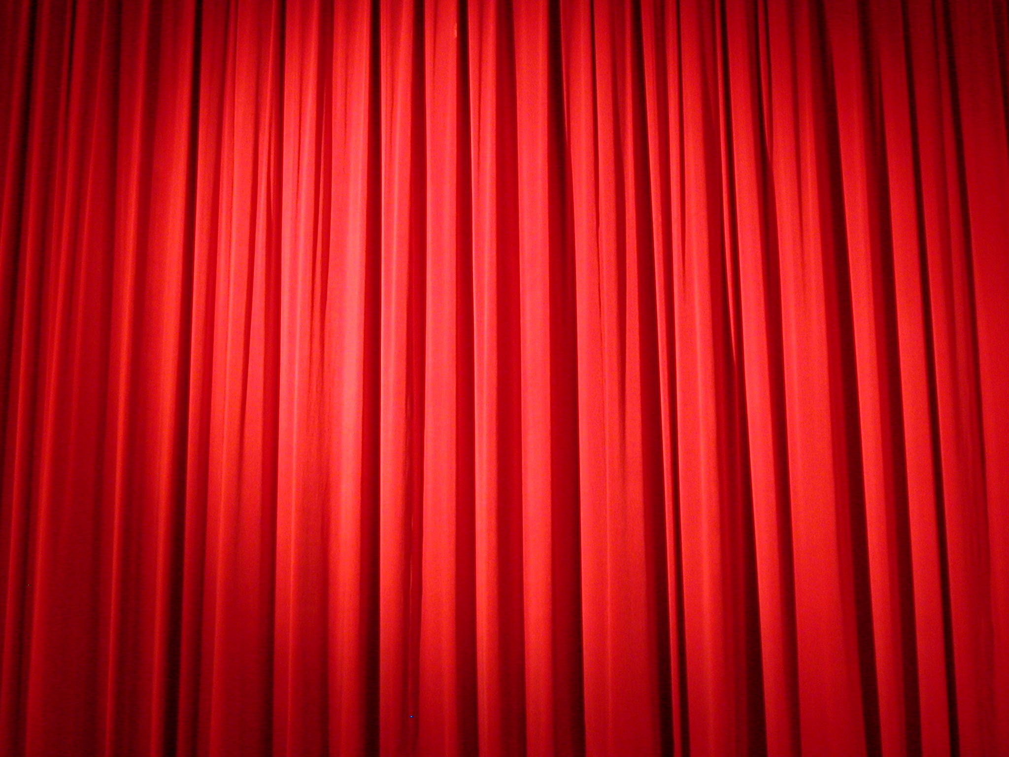 red curtains stage acting show spotlight