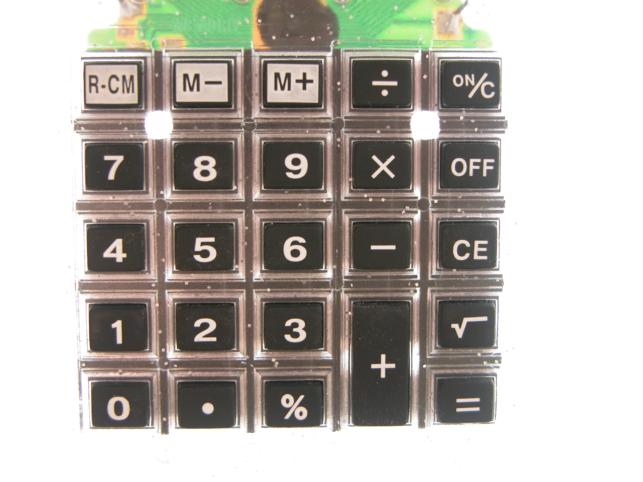 objects circuits keys keypad calculator key numbers typography sanserif