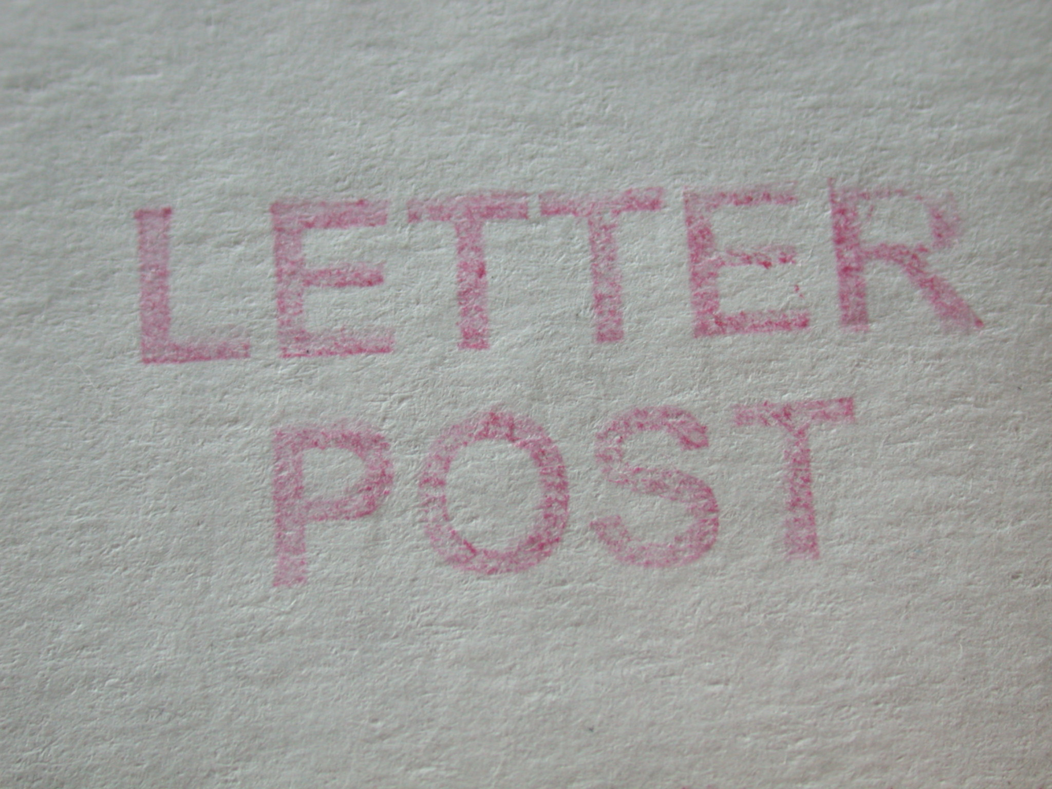 Letter post letters stamp paper red