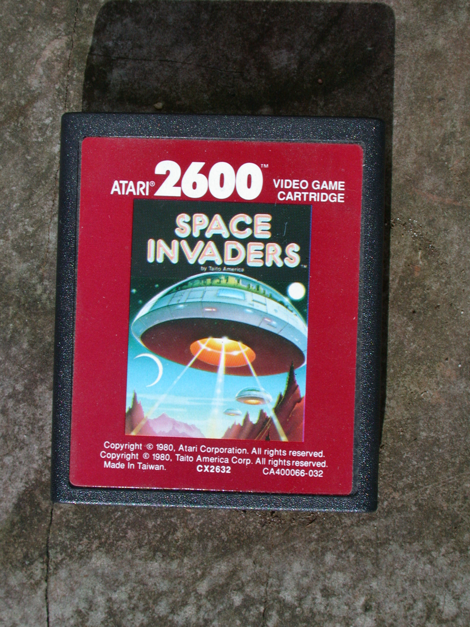 objects videogame computergame game games atari vintage spaceinvaders invaders space cartridge
