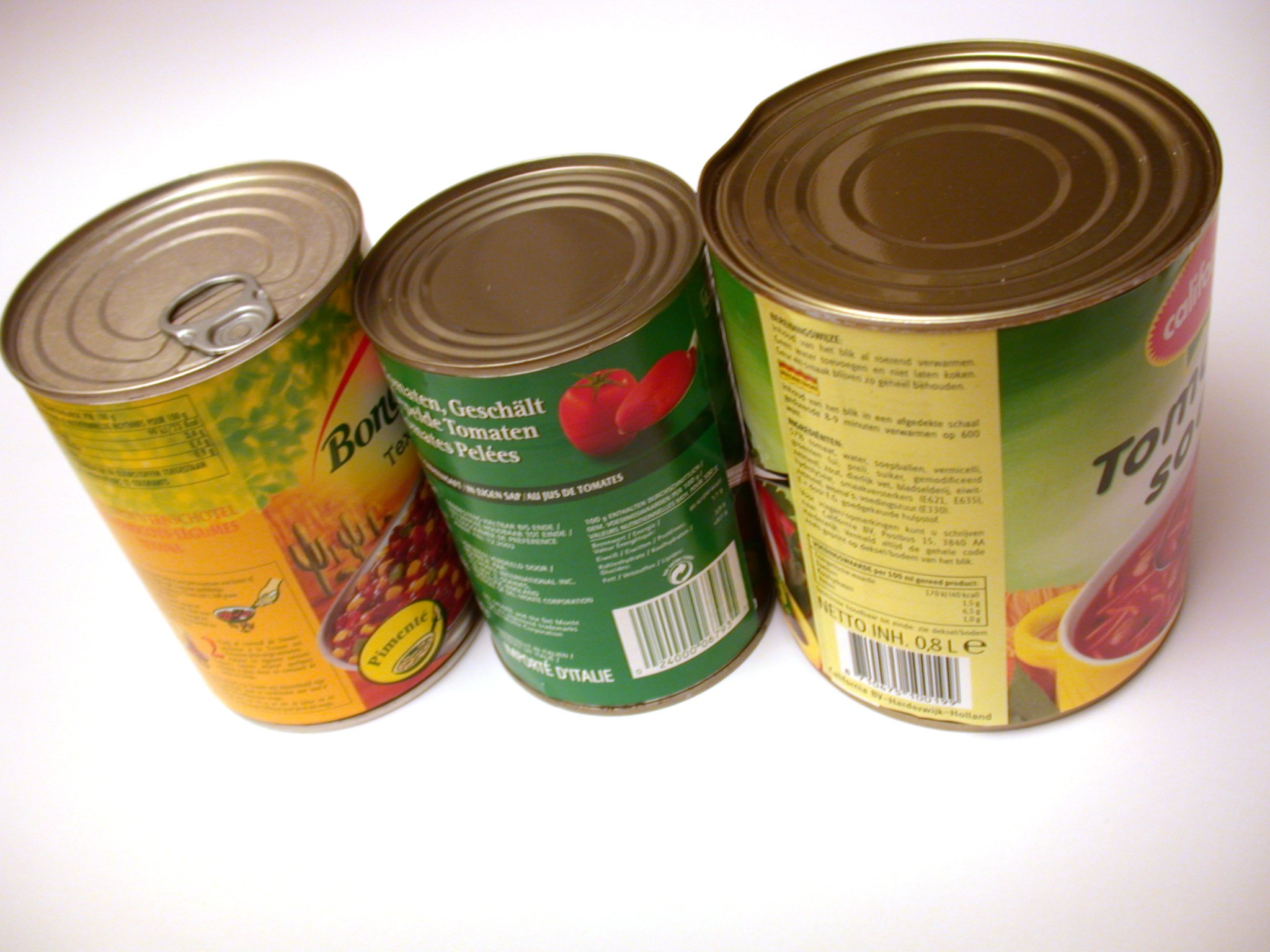objects household can cans tincan tincans food soup