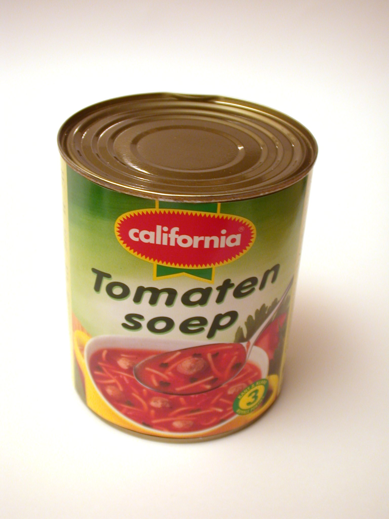 soup tomatosoup tincan can objects household food california