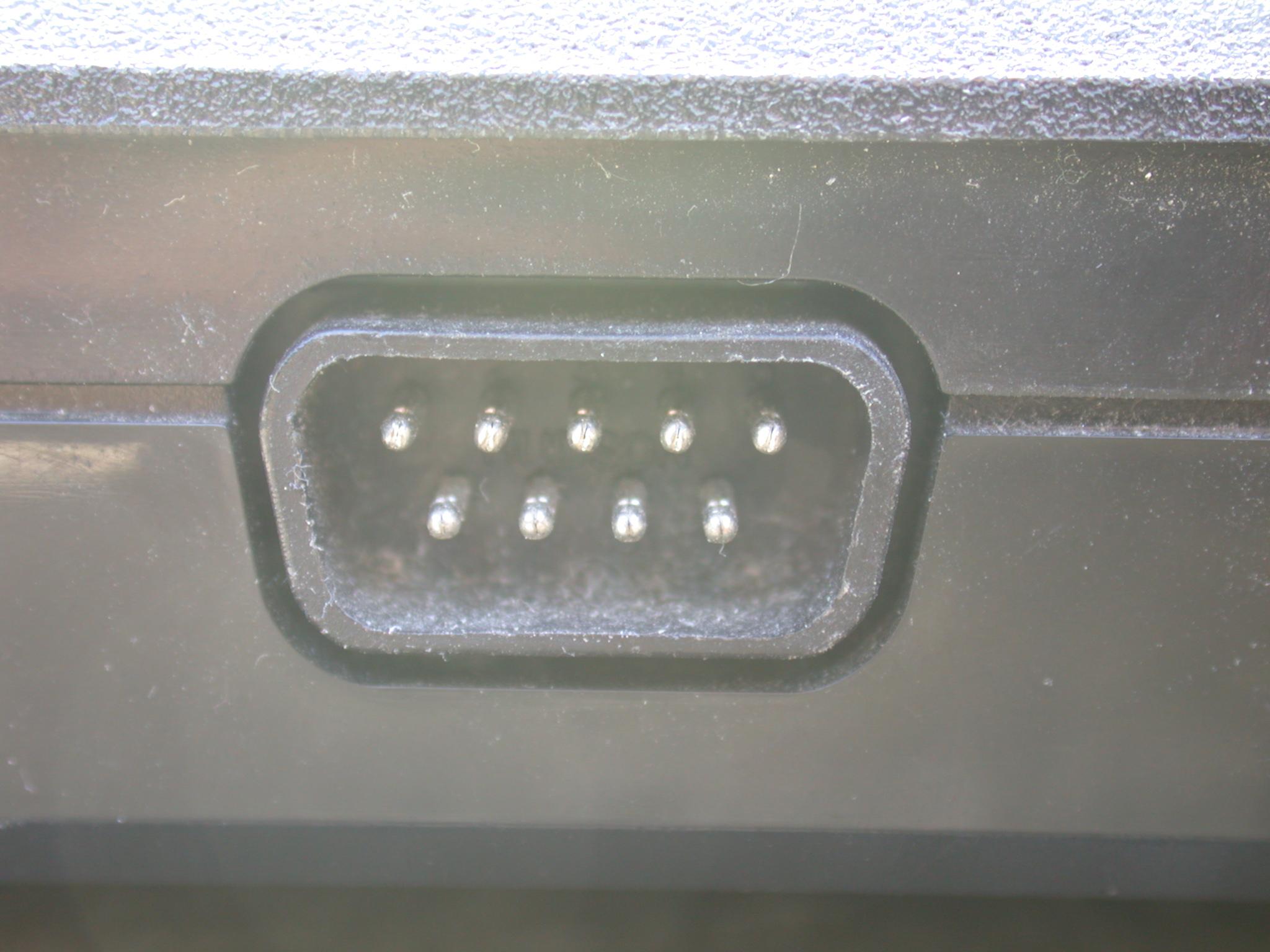 port monitor connector computer comport techno pins