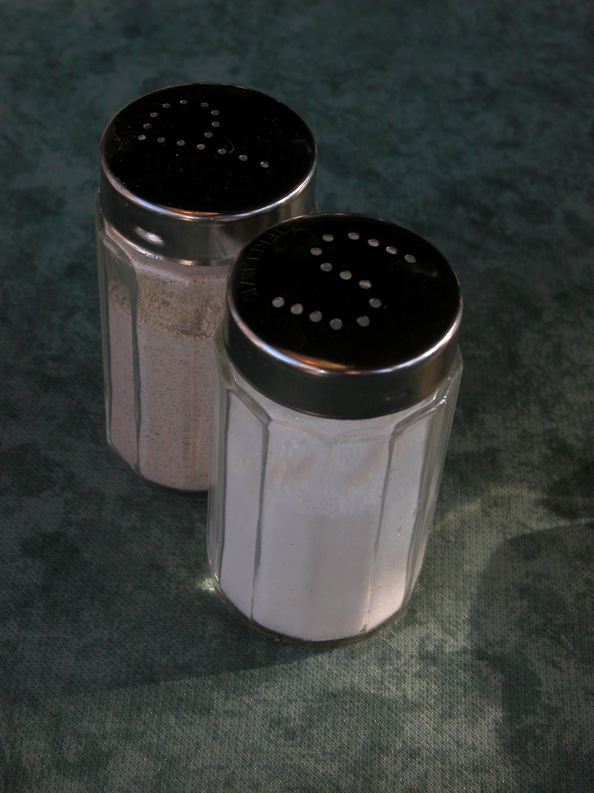 salt and pepper dispencers dispencer tabletop