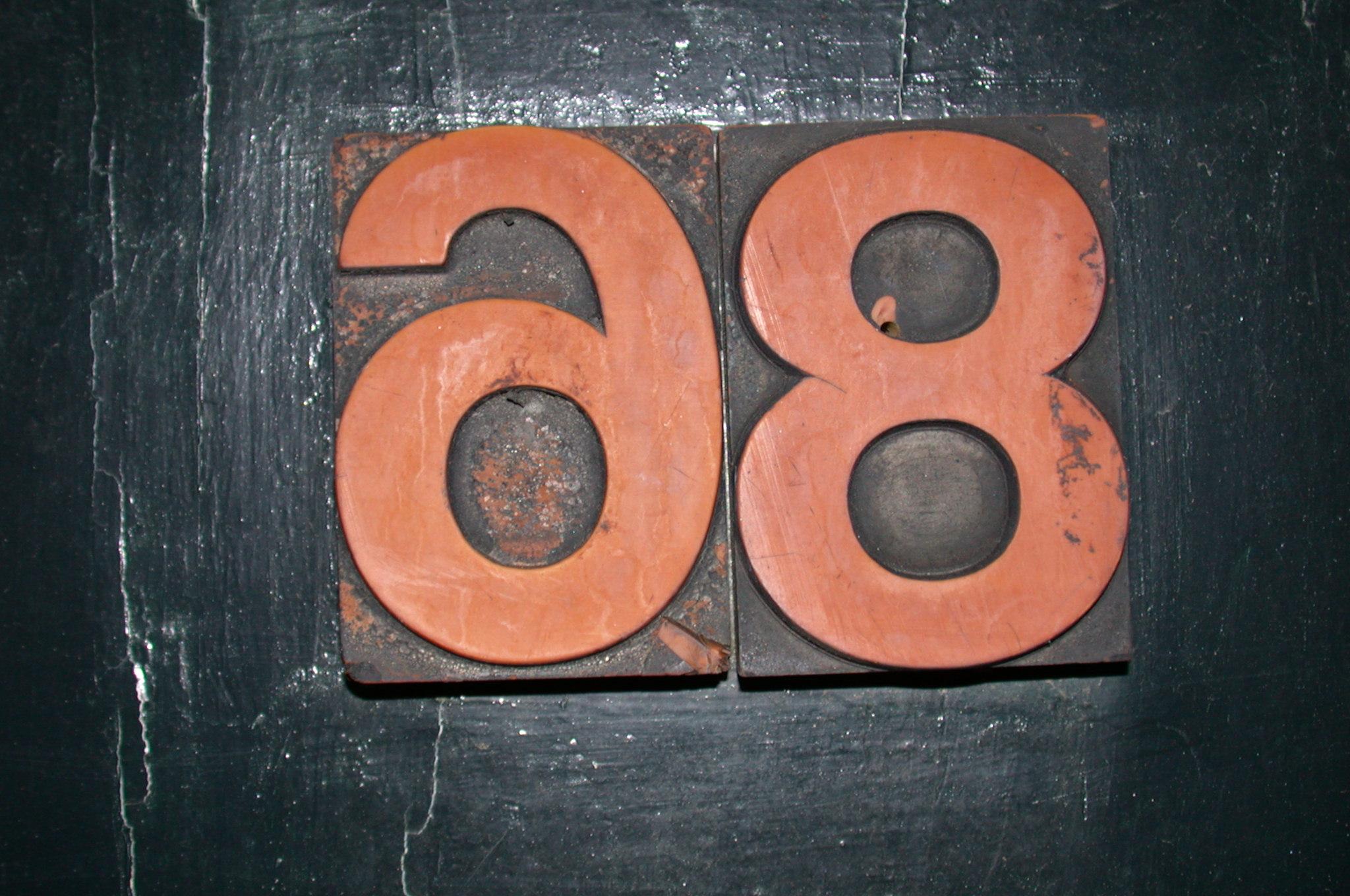 scripts numbers number sanserif 68 8 6 9