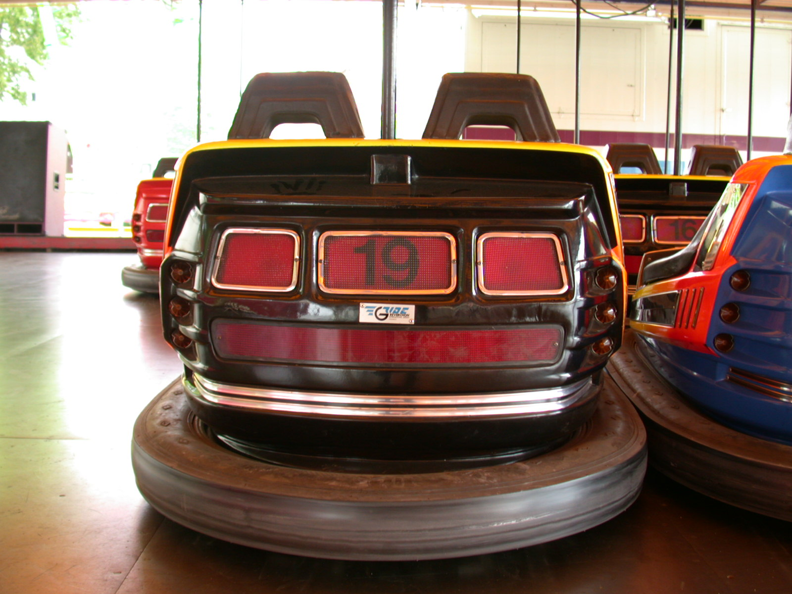 bumpercar bumper car fair 19 back cars bumpercars rubber shiny waxed floor