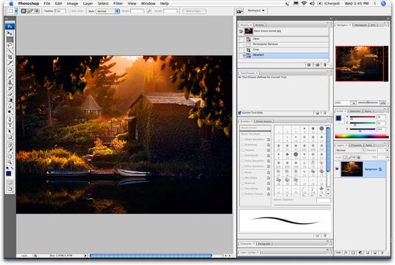 Photoshop CS3 beta доступен для систем Windows XP/Vista, а также для
